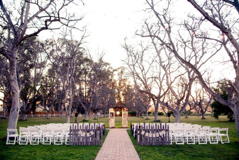 Walnut Grove Ceremony Wedding